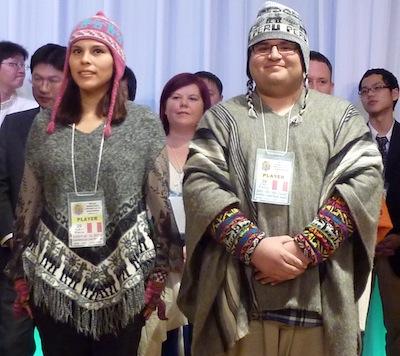 Lui Lam Postigo (left) and Rios Joels - Peru