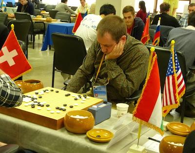 Lorenz Trippel in round one