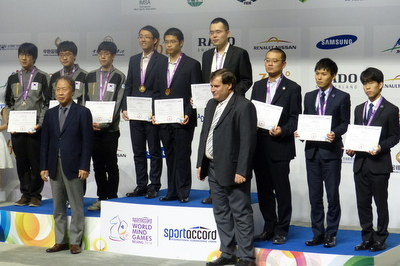 Men's Team at the 2014 SportAccord World Mind Games