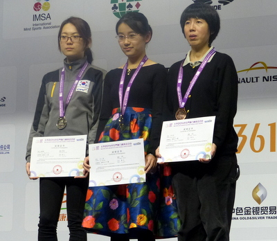 Women's Individual at the 2014 SportAccord World Mind Games